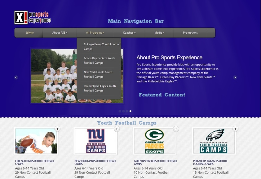 Welcome To The New Pro Sports Experience Website - Pro Sports Experience